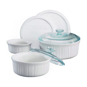 The Best Casserole Dish Option: CorningWare French White Casserole Set