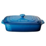 The Best Casserole Dish Option: Le Creuset Stoneware Covered Rectangular Casserole