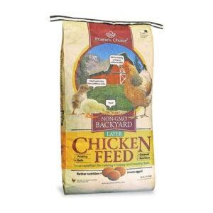The Best Chicken Feed Option: Prairie's Choice Non-GMO Backyard Chicken Feed