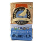 The Best Chicken Feed Option: Scratch and Peck Feeds Organic Layer Feed with Corn