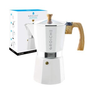 最好的咖啡渗透器选项:Grosche Milano Stovetop Espresso Maker Moka Pot