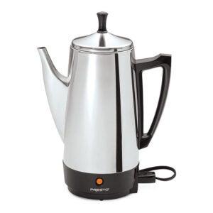 最佳咖啡过滤器选择:Presto 12杯不锈钢咖啡机