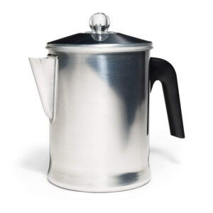 最好的咖啡溶剂选项:樱草杉今天铝炉顶部过滤器9杯