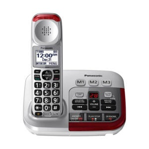 The Best Cordless Phone Options: Panasonic Amplified Cordless Phone