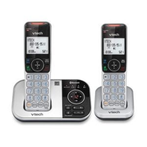 The Best Cordless Phone Options: VTech DECT 6.0 Bluetooth 2 Handset Cordless Phone