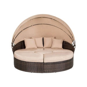 The Best Daybed Option: SUNCROWN Outdoor Patio Daybed with Retractable Canopy