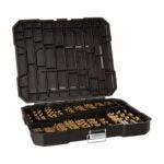 The Best Drill Bits for Stainless Steel Option: 230 Pieces Titanium Twist Drill Bit Set
