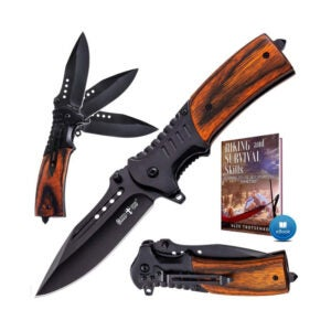 The Best EDC Knife Option: Pocket Knife Spring Assisted Folding Knives-Military
