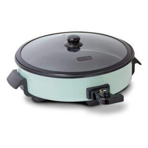 The Best Electric Skillet Option: Dash DRG214AQ Family Size Rapid Heat Electric Skillet