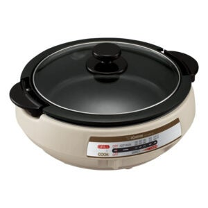 The Best Electric Skillet Option: Zojirushi EP-PBC10 Gourmet d'Expert Electric Skillet
