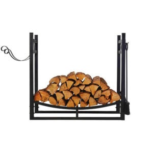 The Best Firewood Rack Options: Patio Watcher Firewood Rack with Kindling Holder