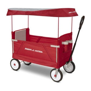 The Best Folding Wagon Option: Radio Flyer 3-In-1 EZ Folding Collapsible Wagon