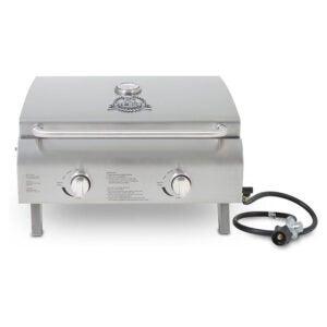 最好的燃气烤肉选项:坑BOSS格栅不锈钢便携式烤架