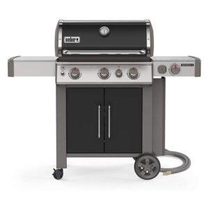 最好的气体烤架选项:Weber Genesis II 3燃烧器天然气烤架