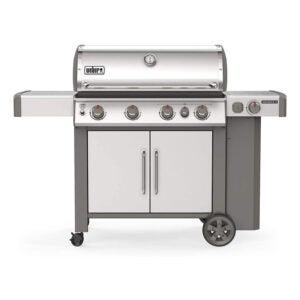 最佳燃气烤架选项:Weber Genesis II 4燃烧器液丙烷烤架