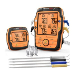 The Best Grill Thermometer Options: ThermoPro TP27 Long Range Wireless Meat Thermometer