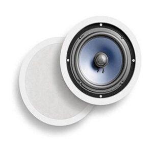 The Best In-Ceiling Speaker Option: Polk Audio 2-way Premium In-Ceiling 8 Round Speakers