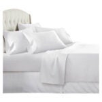 The Best Microfiber Sheets Options: Danjor Linens White Microfiber, 1800 Thread Count