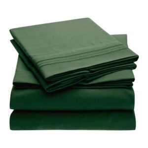 The Best Microfiber Sheets Options: Mellanni Microfiber 1800 Thread Count Bed Sheet Set