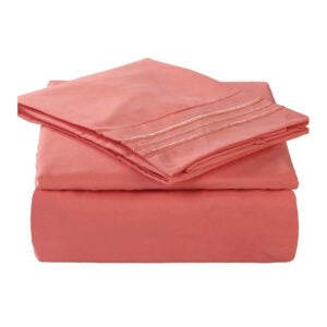 The Best Microfiber Sheets Options: TEKAMON Microfiber 1800 Thread Count Bed Sheet Set