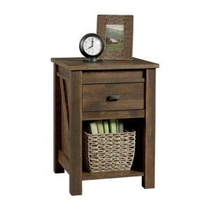 最好的床头柜选项:Ameriwood Home Farmington Rustic Barn Pine Nightstand
