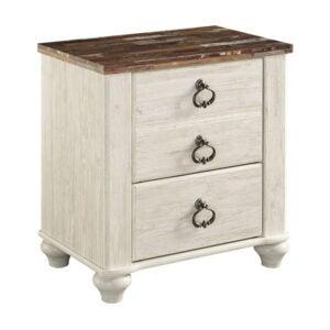 最好的床头柜选项:Ashley家具签名设计柳顿