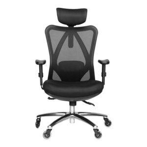 背部疼痛最佳办公椅选择:Duramont人体工程学可调办公椅