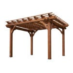 The Best Pergola Kit Option: Backyard Discovery Cedar 12 Ft. x 10 Ft. Pergola