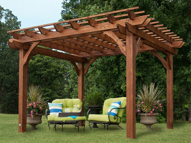 The Best Pergola Kit Options
