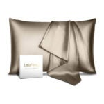 The Best Pillowcase Options: Leafbay 100% Pure Mulberry Silk Pillowcase