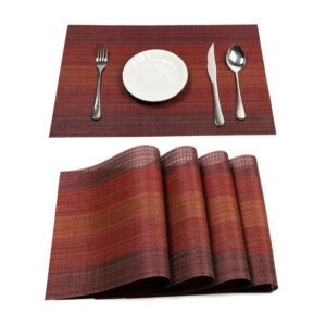 The Best Placemat Option: Pauwer Placemats Set of 6