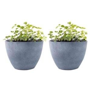 The Best Planter Options: LA JOLIE MUSE Flower Pot Garden Planters