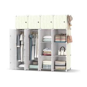 The Best Wardrobe Option: HOMIDEC Portable Closet Wardrobe