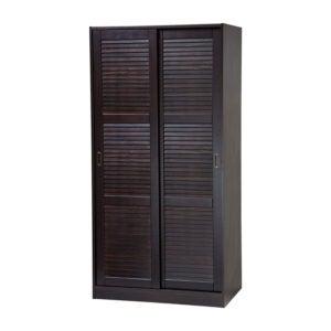 The Best Wardrobe Option: Palace Imports 100% Solid Wood 2-Door Wardrobe