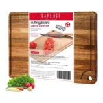 The Best Wood Cutting Board Options: Caperci Large Acacia Wood Cutting Board