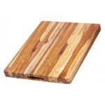 The Best Wood Cutting Board Options: TeakHaus by Proteak Edge Grain Carving Board