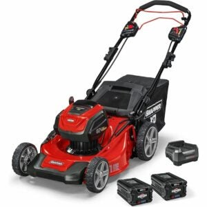 "The Best Battery Powered Lawn Mower Options: Snapper XD 82V MAX Cordless Electric 21"" Lawn Mower"