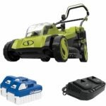 The Best Battery Powered Lawn Mower Options: Sun Joe 48-Volt 17-Inch Walk-Behind Lawn Mower