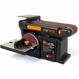 The Best Bench Sander Option: WEN 6502T Belt and Disc Sander