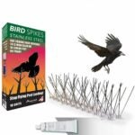 The Best Bird Deterrent Option: Aspectek Stainless Steel Bird Spikes