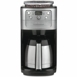 The Best Coffee Maker with Grinder Options: Cuisinart DGB-900BC Grind & Brew Thermal Coffeemaker