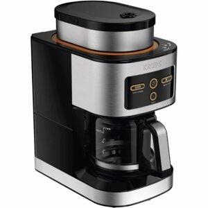 The Best Coffee Maker with Grinder Options: KRUPS KM550D50 Personal Café Grind