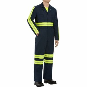 The Best Coveralls Options: Red Kap Men's Enhanced Visibility Twill Coverall