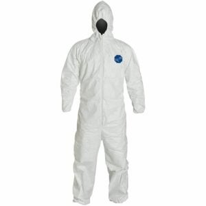 The Best Coveralls Options: Tyvek Disposable Suit by Dupont with Hood