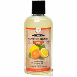 The Best Cutting Board Oil Options: CLARK'S Food Grade Mineral Oil for Cutting Boards