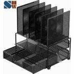 最佳办公桌整理器选择:简单家庭用品网状办公桌整理器