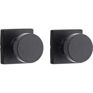 The Best Door Knobs Options: Kwikset 97880-942 Pismo Half-Dummy Modern Door Knob