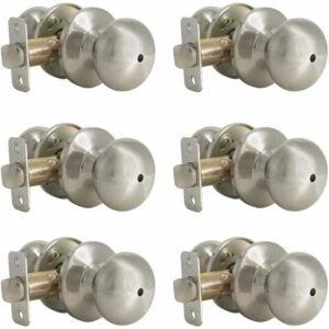 The Best Door Knobs Options: Probrico Interior Privacy Handles Door Lockset 6 Pack