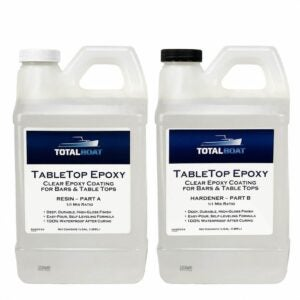 The Best Epoxy Resin Option: TotalBoat - Epoxy Resin Crystal Clear