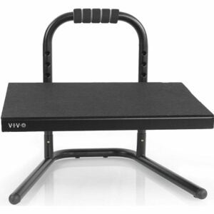 The Best Foot Rest Options: VIVO Black Ergonomic Height Adjustable Foot Rest